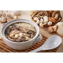 聰明莉膳師「蒜頭菇菇雞湯」